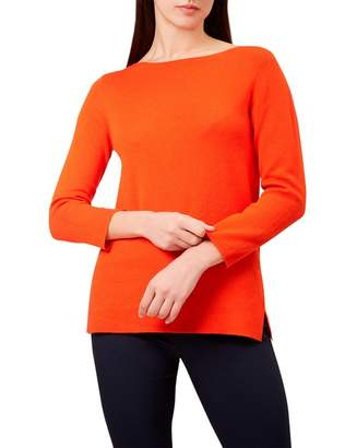 Hobbs Orange 'Cassey' Sweater