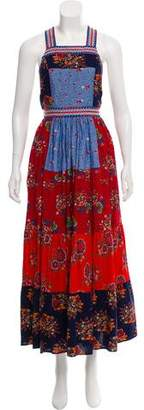 Ulla Johnson Patterned Maxi Dress