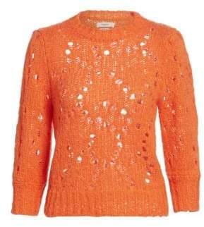 Etoile Isabel Marant Sinead Crochet Knit Sweater
