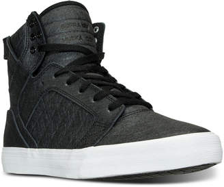 Supra Men's Skytop High-Top Casual Sneakers from Finish Line $115 thestylecure.com