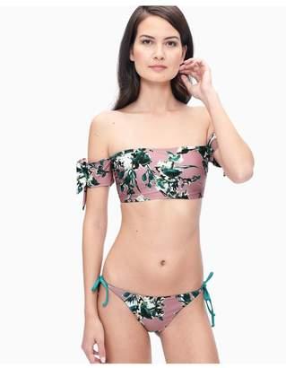 Splendid Watercolor Floral Bikini Bandeau