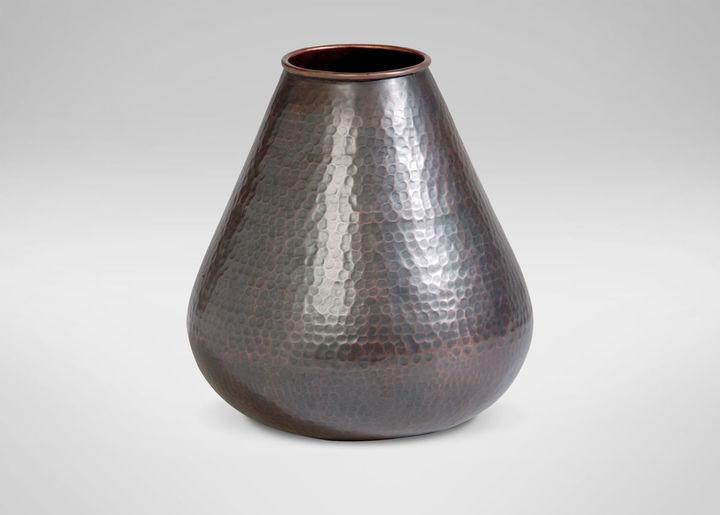 Small Hammered Gourd Vase