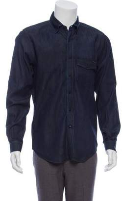 Belstaff Denim Button-Up Shirt