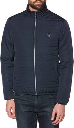 Original Penguin Lightweight Channel Quilted Jacket