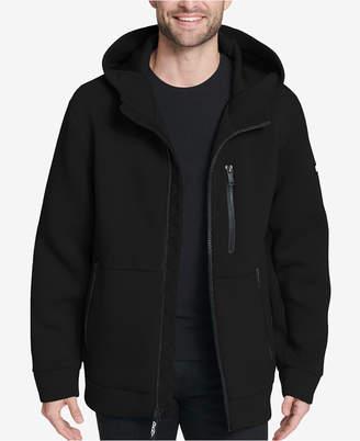 DKNY Men's Full-Zip Hooded Scuba Jacket, Created for Macy's