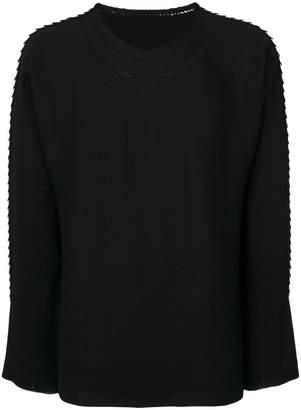 Issey Miyake textured jumper