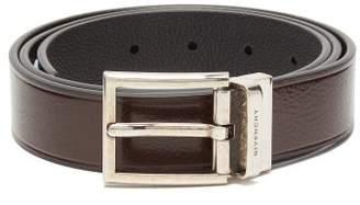 Givenchy Reversible Leather Belt - Mens - Black Brown
