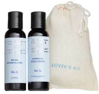 Province Apothecary Lovers Kit Massage Oils