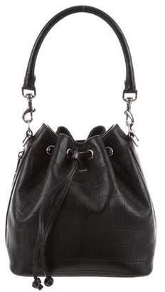 Saint Laurent Leather Bucket Bag