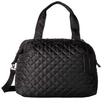 Steve Madden Quilted Nylon Weekender $98 thestylecure.com