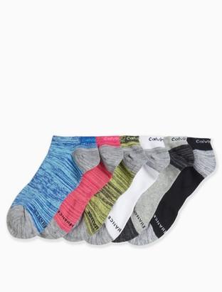 Calvin Klein 6-pack performance logo socks