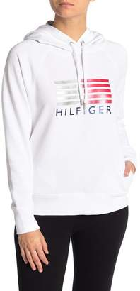 Tommy Hilfiger Logo Knit Hoodie