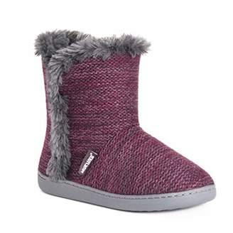 Muk Luks Women's Cheyenne Bootie Slippers