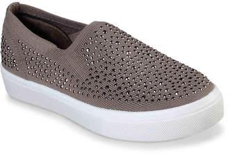 Skechers Poppy Studded Affair Slip-On Sneaker - Women's