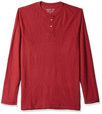 Vintage 1946 Men's Garment Dyed Slub Henley