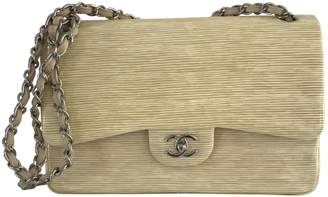 Chanel Timeless Beige Patent leather Handbag