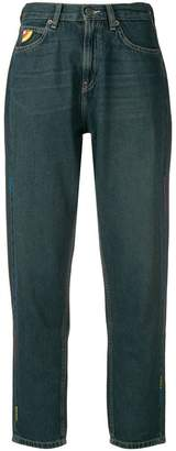 Mira Mikati zig zag tapered jeans