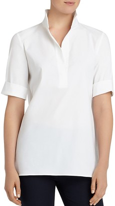 Lafayette 148 New York Daley Blouse $348 thestylecure.com