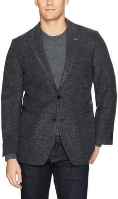 Tommy Hilfiger Men's Unconstructed Sweater Sportcoat Blazer, Grey, 40L