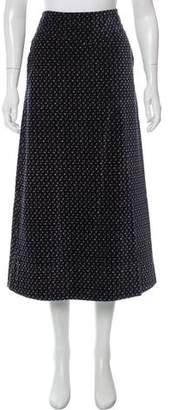 Marc Jacobs Floral Velvet Skirt
