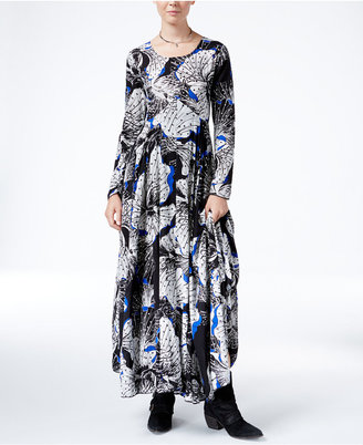 Free People Printed Maxi Dress $148 thestylecure.com