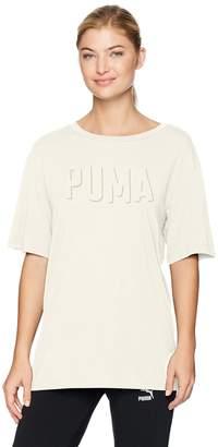 Puma Women's Fusion Elongated Athleisure Fashion Tee
