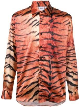Sss World Corp tiger print shirt