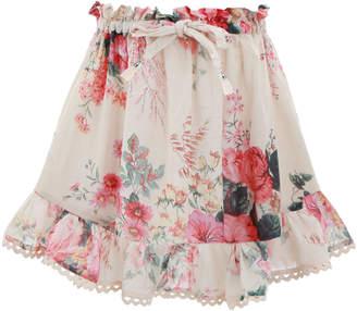 Zimmermann Laelia Flounce Skirt