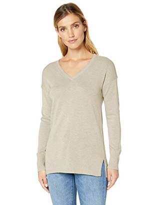 Amazon Essentials Women's V-Neck Tunic Sweater
