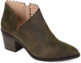 Journee Collection Womens Tessa Booties Stacked Heel