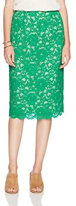 Paris Sunday Women's Lace Pencil Skirt