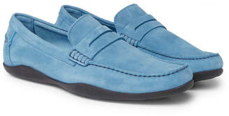 Harry's of London Basel Suede Penny Loafers
