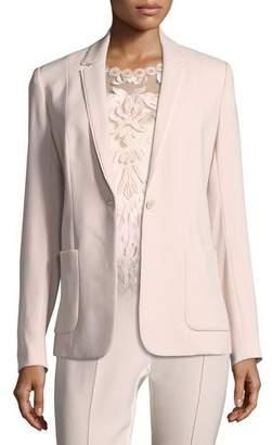Elie Tahari Wendy Patch-Pocket Jacket