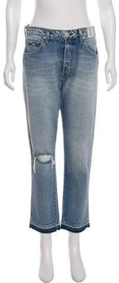 Amo High-Rise Straight Jeans w/ Tags