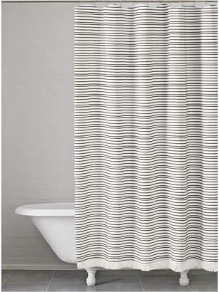 Katex Halsey Cotton Stripe Shower Curtain Bedding