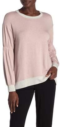 Michael Stars Gathered Sleeve Sweatshirt