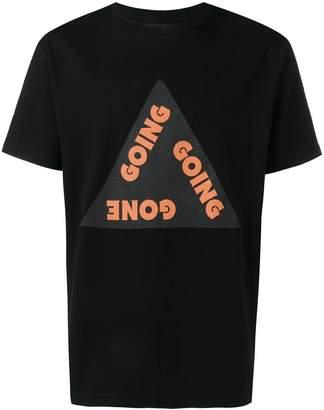 Wood Wood Gone slogan print T-shirt