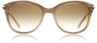 GUESS 7469 57F Crystal 7469 Butterfly Sunglasses Lens Category 3 Size 56m