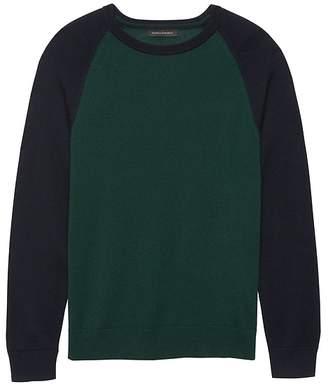 Banana Republic Italian Merino Wool Raglan Sweater