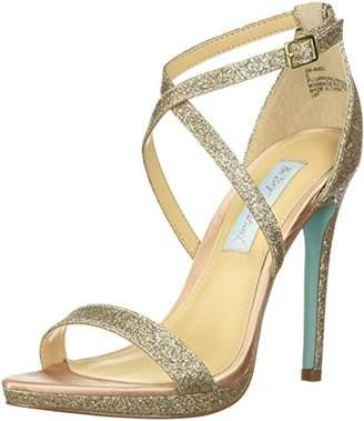 Betsey Johnson Blue by Women's SB-Andi Heeled Sandal