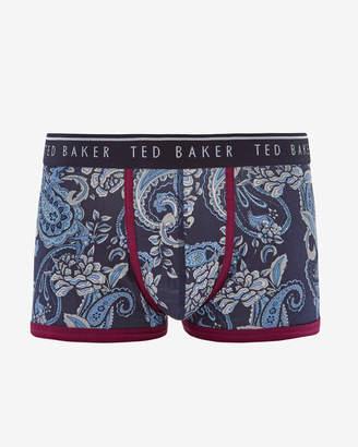 Ted Baker NITON Paisley cotton boxer shorts