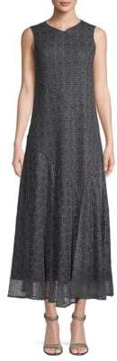 Lafayette 148 New York Textured A-Line Dress