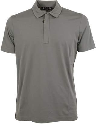 Loro Piana Zipped Placket Polo Shirt
