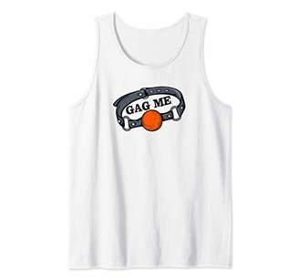 GAG ME - Ball Gag Collar Fetish Humor Tank Top