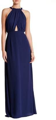 Dee Elly Halter Sleeveless Maxi Dress