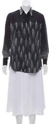 3.1 Phillip Lim Silk Embellished Top