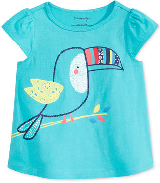 First Impressions Graphic-Print Cotton T-Shirt, Baby Girls (0-24 months), Only at Macy's $13 thestylecure.com