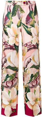 F.R.S For Restless Sleepers Rosa floral trousers