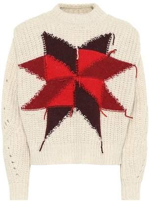 Isabel Marant Hadyn wool-blend intarsia sweater