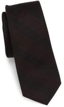 Saks Fifth Avenue MODERN Tudor Striped Wool Tie